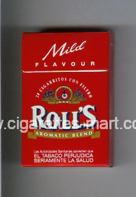 Roll`s (design 1A) (Mild Flavour / American Blend) ( hard box cigarettes )