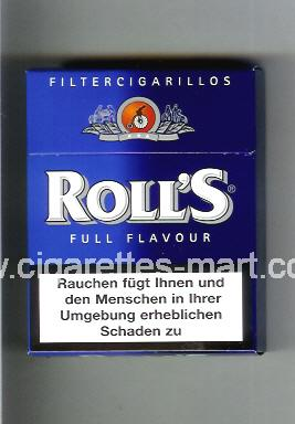 Roll`s (design 2) (Full Flavour / Filter Cigarillos) ( hard box cigarettes )