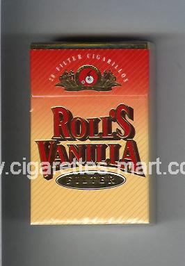 Roll`s (design 3) Vanilla (Filter) ( hard box cigarettes )