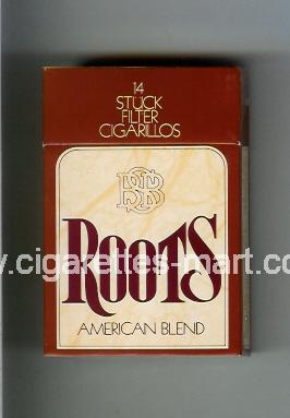 Roots (American Blend) ( hard box cigarettes )
