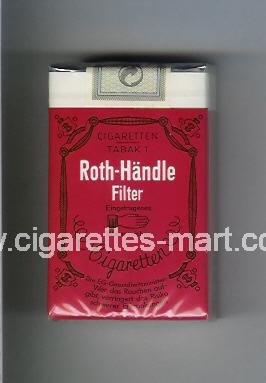 Roth-Handle (Filter) ( soft box cigarettes )