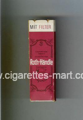 Roth-Handle (Mit Filter) ( hard box cigarettes )