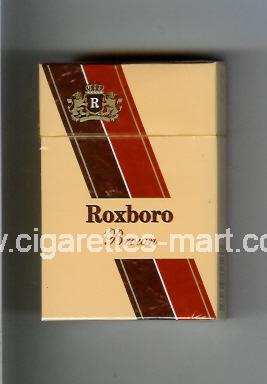 Roxboro (german version) (design 1) (Brown) ( hard box cigarettes )