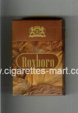 Roxboro (german version) (design 2) (Brown) ( hard box cigarettes )