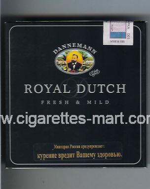 Royal Dutch (Dannemann / Fresh & Mild) ( box cigarettes )
