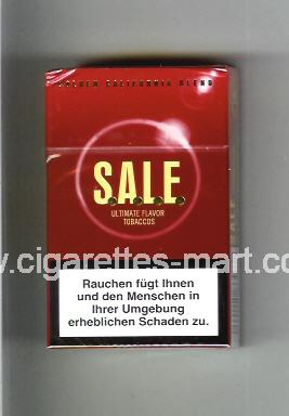 Sale (Golden California Blend) ( hard box cigarettes )
