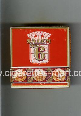 Salem (german version) (design 4) No 6 ( hard box cigarettes )