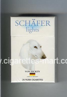 Schafer (Lights) ( hard box cigarettes )