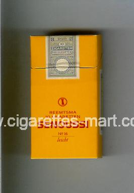 Senoussi (design 1) (No 16 / Leicht) ( hard box cigarettes )