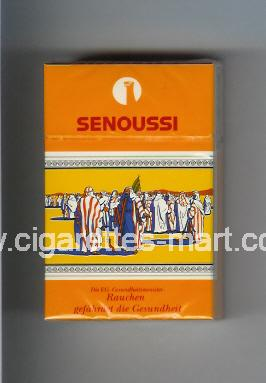 Senoussi (design 2) ( hard box cigarettes )