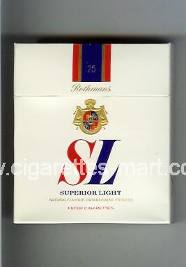 SL (german version) (Superior Light) ( hard box cigarettes )