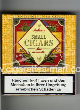 Small Cigars (german version) (Tabiacco / Fine Aromatic) ( box cigarettes )