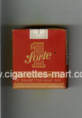 Sorte 1 (design 5A) ( soft box cigarettes )