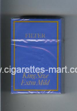 Spar (design 1) (Extra Mild) ( hard box cigarettes )