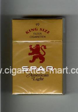 Spar (design 2) (American Light) ( hard box cigarettes )