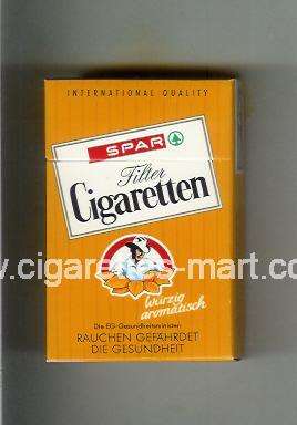 Spar (design 3) Cigaretten (Filter / International Quality) ( hard box cigarettes )