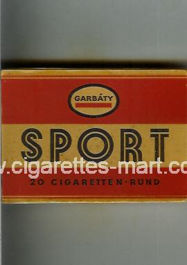 Sport (german version) (design 1) (Garbaty) ( box cigarettes )