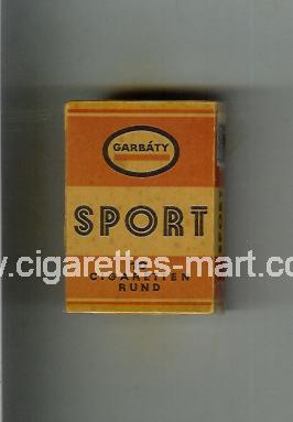 Sport (german version) (design 1) (Garbaty) ( hard box cigarettes )