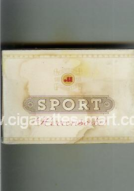 Sport (german version) (design 2) (Herrensorte) ( box cigarettes )