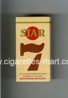 Star 7 ( hard box cigarettes )