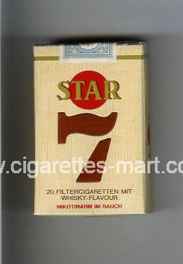 Star 7 ( soft box cigarettes )