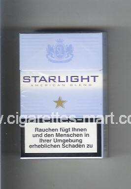 Starlight (design 2) (American Blend) ( hard box cigarettes )