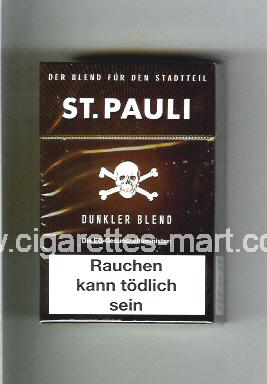 St.Pauli (Dunkler Blend) ( hard box cigarettes )