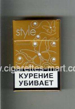 Style (german version) (design 3) (Gold Diamond) ( hard box cigarettes )
