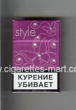 Style (german version) (design 3) (Pink Diamond) ( hard box cigarettes )