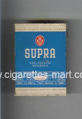 Supra (design 1) ( hard box cigarettes )