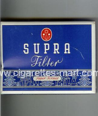 Supra (design 1A) (Filter / Super Format) ( box cigarettes )