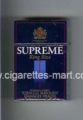 Supreme (german version) ( hard box cigarettes )