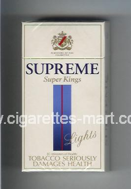 Supreme (german version) (Lights) ( hard box cigarettes )