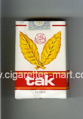 Tak (Filter) ( soft box cigarettes )