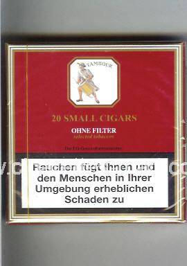 Tambour (Small Cigars / Ohne Filter) ( box cigarettes )