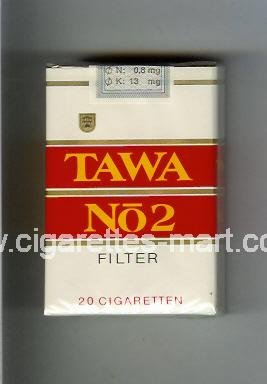 Tawa (design 1) No 2 (Filter) ( soft box cigarettes )