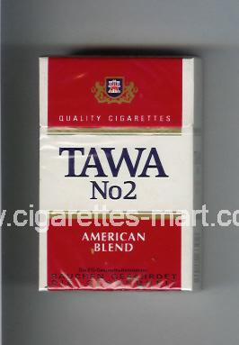 Tawa (design 2) No 2 (American Blend) ( hard box cigarettes )