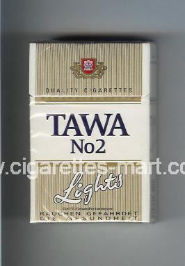 Tawa (design 2) No 2 (Lights) ( hard box cigarettes )