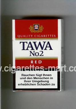 Tawa (design 2) No 2 (Red) ( hard box cigarettes )