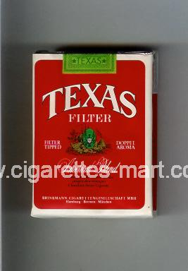 Texas (german version) (design 3) (Filter / American Blend) ( soft box cigarettes )