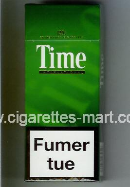 Time (german version) (International) ( hard box cigarettes )