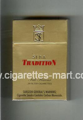 Tradition (german version) SEBA (Full Flavour) ( hard box cigarettes )