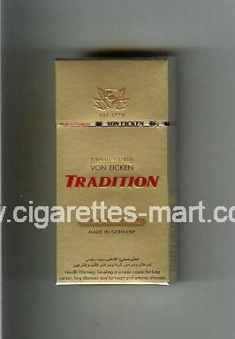 Tradition (german version) Von Eicken (Premium Virginia Blend) ( hard box cigarettes )