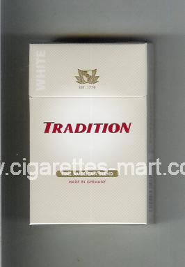 Tradition (german version) White (Fine American Blend) ( hard box cigarettes )