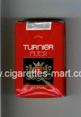 Turnier (Filter / Wurzig) ( soft box cigarettes )