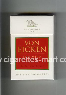 Von Eicken (design 1) (It's Mild) ( hard box cigarettes )