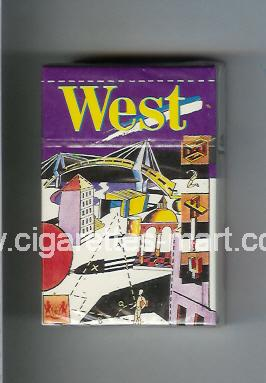 West (collection design 1) ( hard box cigarettes )
