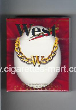 West (collection design 10D) (Full Flavor) ( hard box cigarettes )