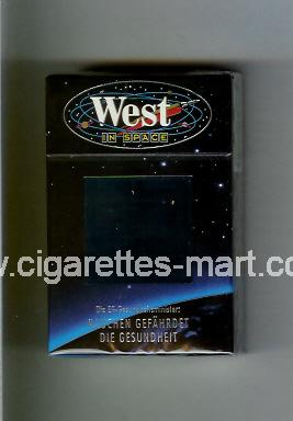 West (collection design 11A) (In Space) ( hard box cigarettes )