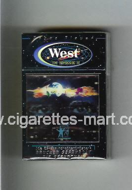 West (collection design 11B) (In Space) ( hard box cigarettes )